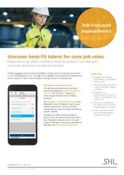 Job-Focused Assessments Flyer