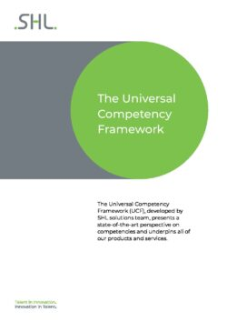 The Universal Competency Framework