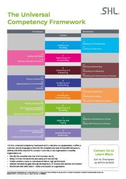 The Universal Competency Framework Poster
