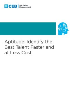 Aptitude: Identify the Best Talent Faster and at Less Cost